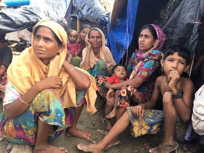 Im Flüchtlingslager Cox´s Bazar: Frauen und Kinder sind besonders betroffen.
