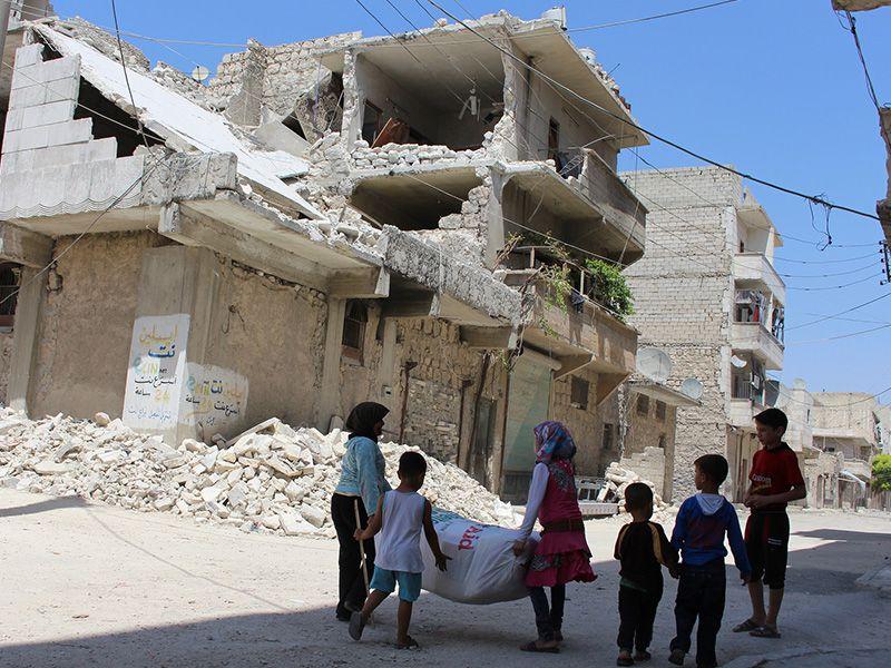 Friedensförderung in Syrien