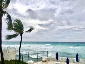 Strand bei Hurrikan Maria