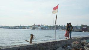 Küste Indonesien nach dem Tsunami in 2018