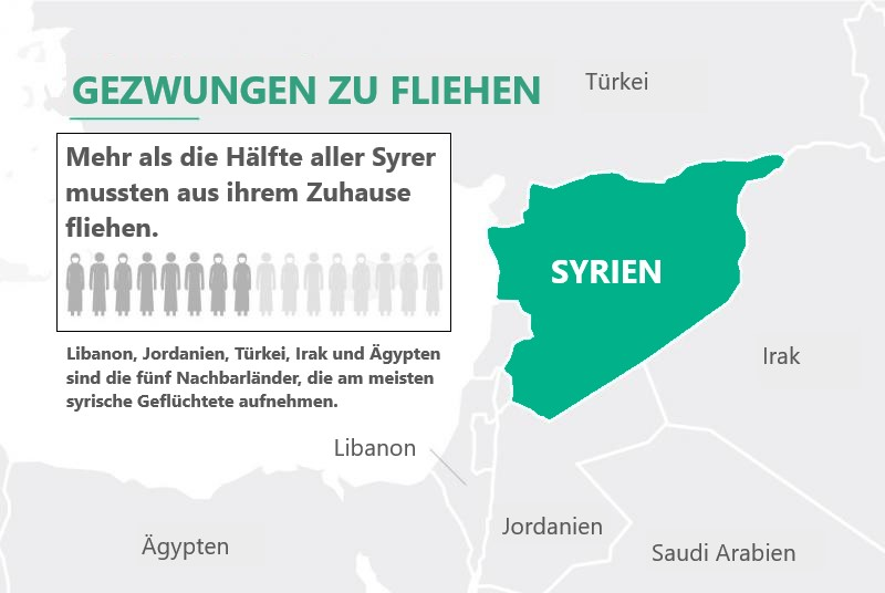 Infographik Syrien
