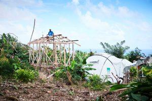ShelterBox im Einsatz nach Hurrikan Irma und Maria in Dominica, Shelter Kit, ShelterBox Zelt