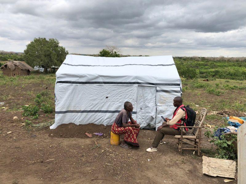 Notunterkunft Kenia