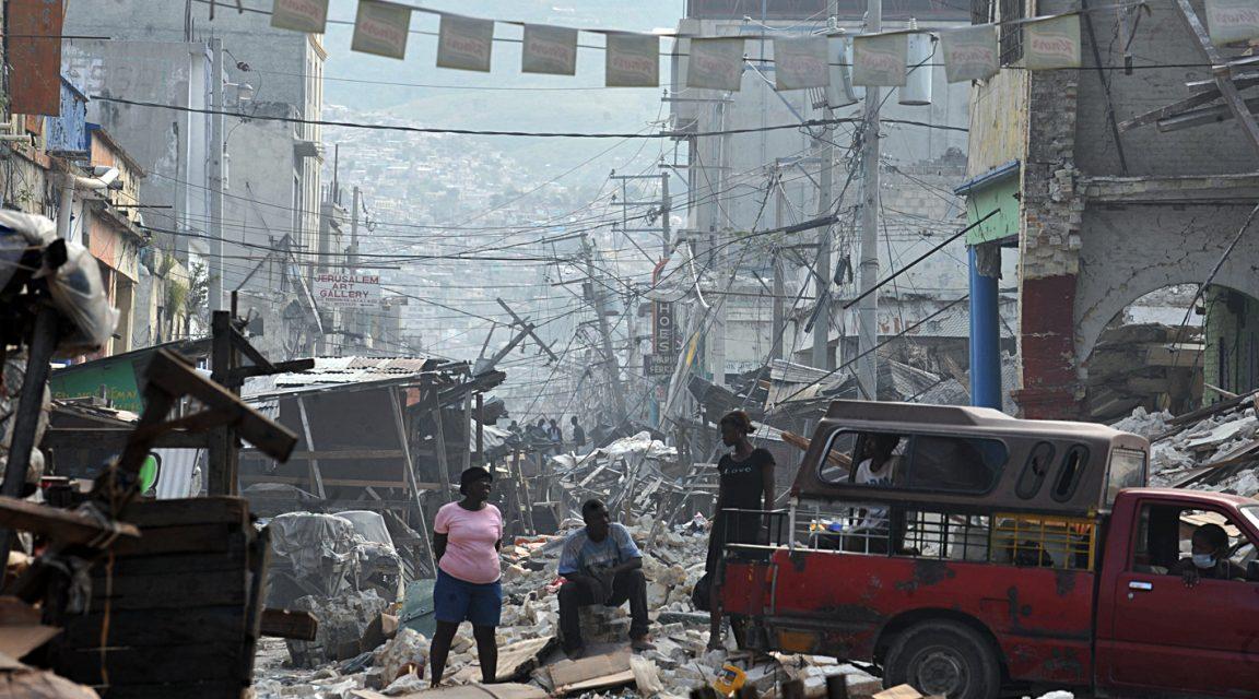 Erdbebeneinsätze: Haiti 2010