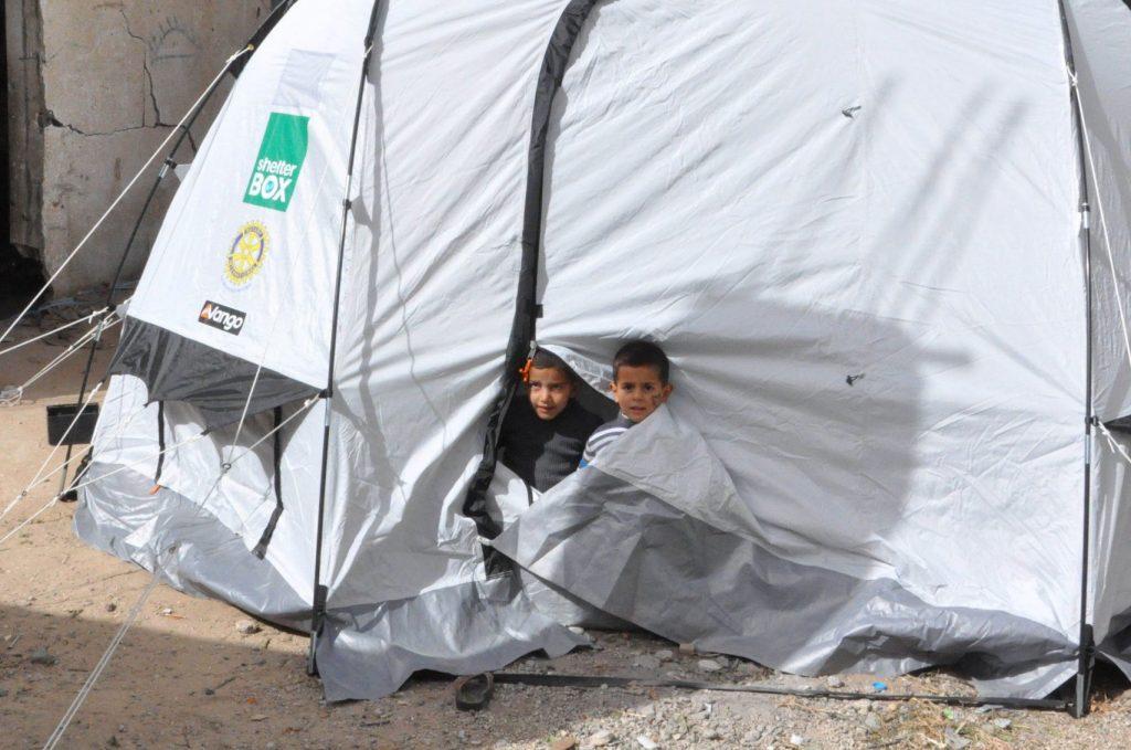 HILFSGÜTER NACH GAZA