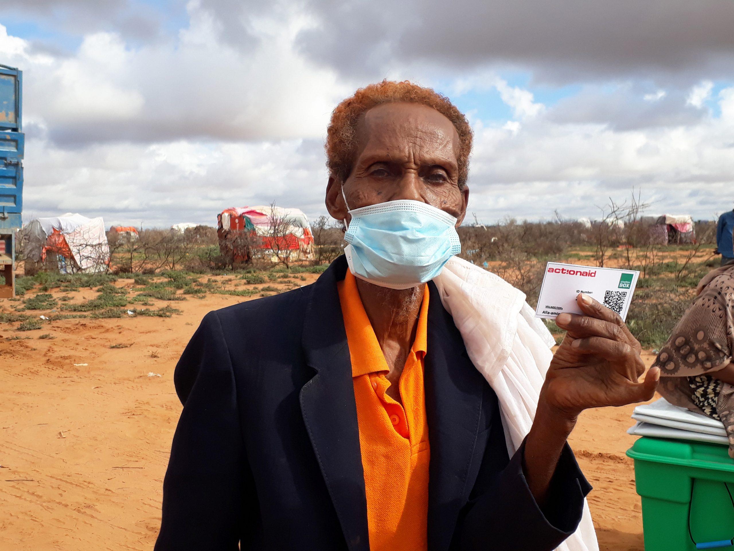 Geflüchteter in Somaliland