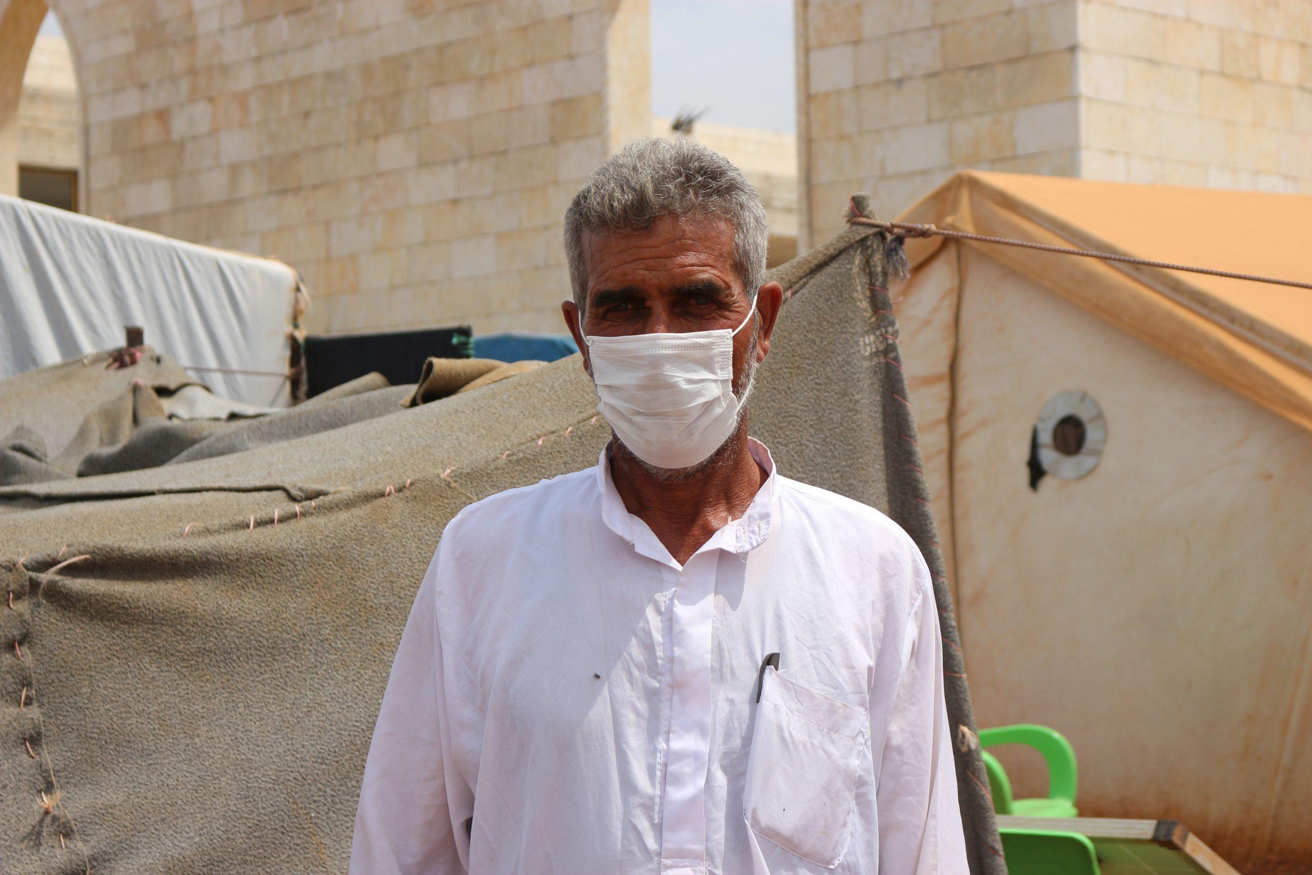 Ein Schulleiter in einem syrischen Flüchtlingscamp