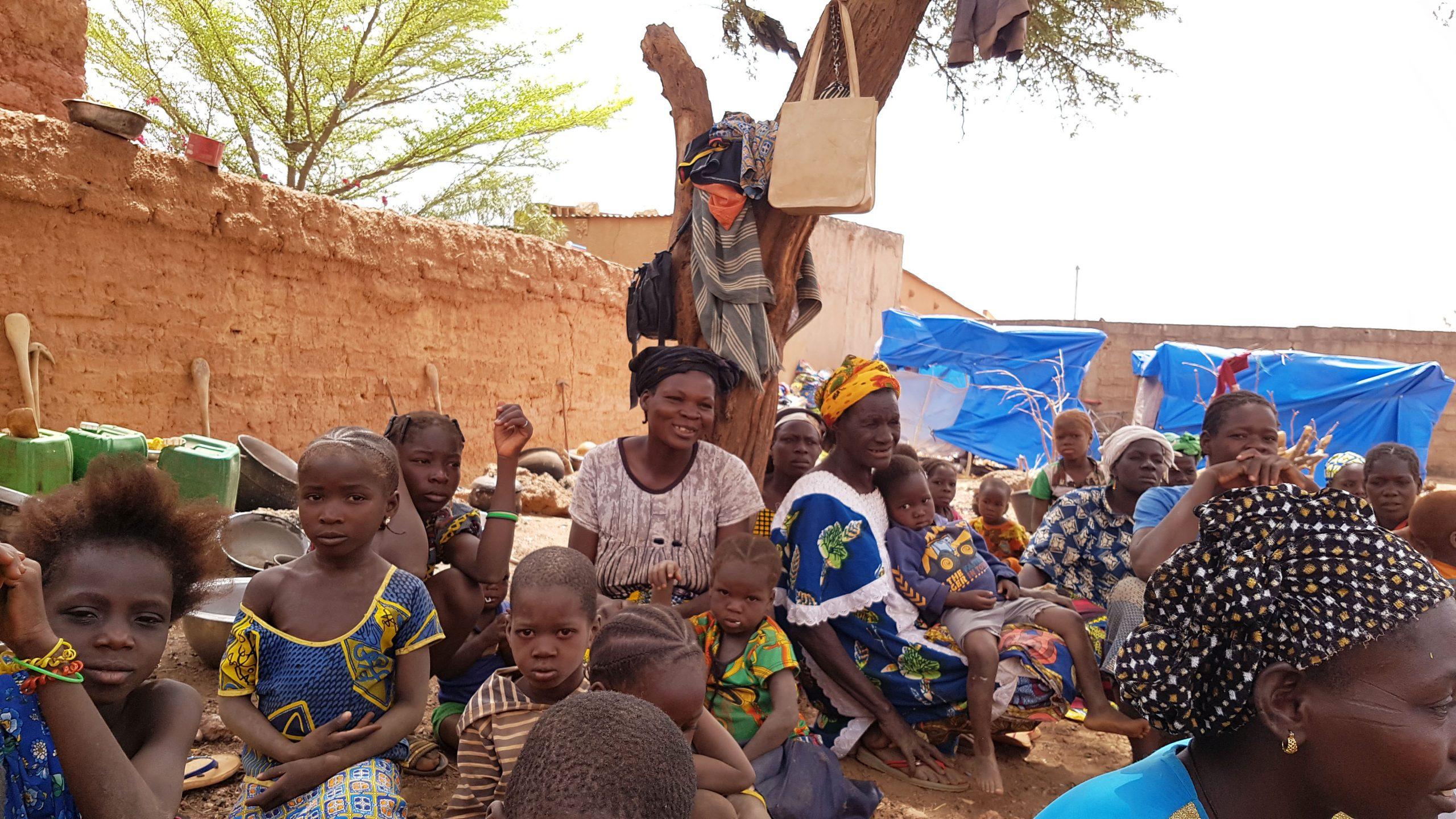 Flüchtlingskrise in Burkina Faso: Islamistischer Terror und Hungersnöte