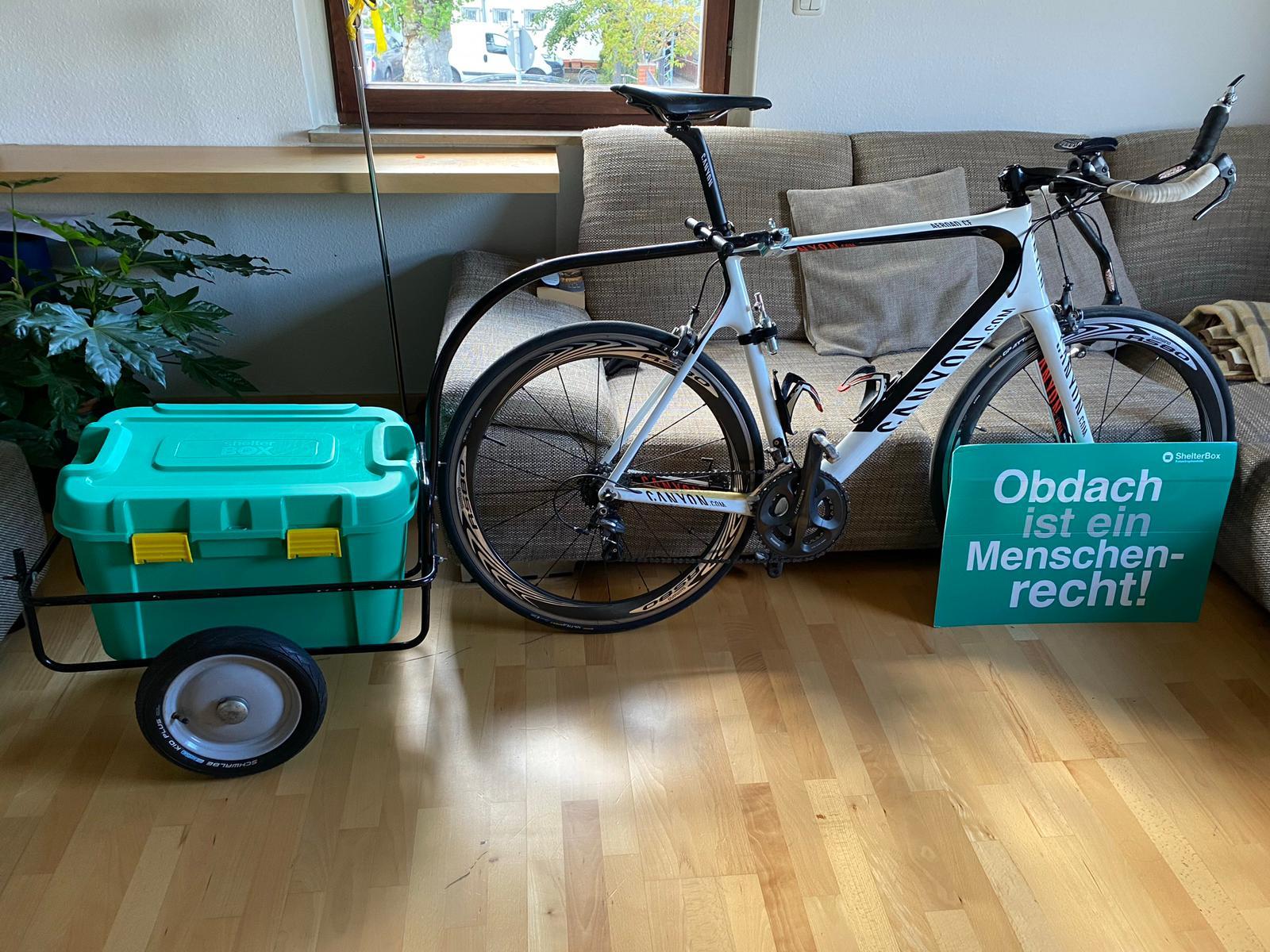 ShelterBox Fahrradtour: Obdach ist ein Menschenrecht